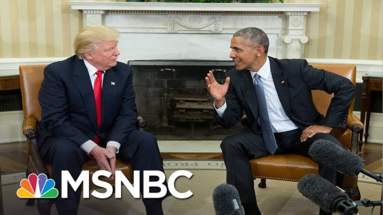 Memo to Trump: 'You Have Always Been Absolutely Terrified Of Your Predecessor' | MSNBC 1