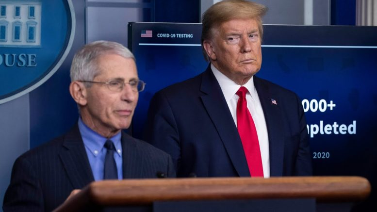 Trump attacks Fauci, says he made 'bad calls' on COVID-19 1