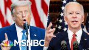 Trump Mocks Joe Biden For 'Listening To The Scientists' | Morning Joe | MSNBC 3