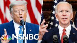 Trump Mocks Joe Biden For 'Listening To The Scientists' | Morning Joe | MSNBC 8
