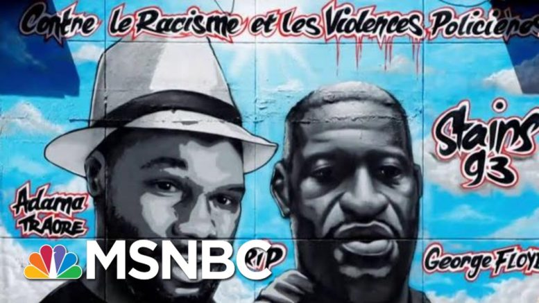 Valentin Uncovers Racism, Brutality While Reporting Undercover As Police Officer In Paris | MSNBC 1