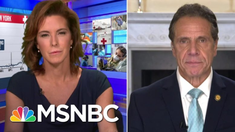 Gov. Cuomo Admits 'Inequities' To Impact On NY Businesses | Stephanie Ruhle | MSNBC 1