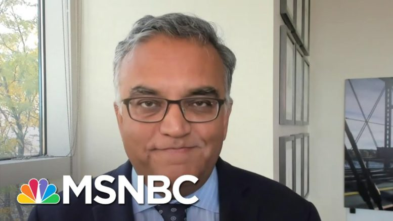 Dr. Ashish Jha On The Coronavirus Pandemic: 'The End Is Not Near.' | Craig Melvin | MSNBC 1