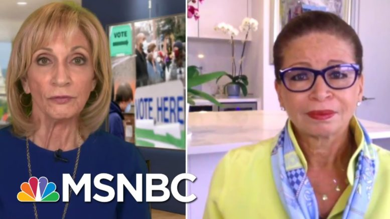 Trump 'Is Fueling Anxiety About The Integrity Of Our Election' | Andrea Mitchell | MSNBC 1