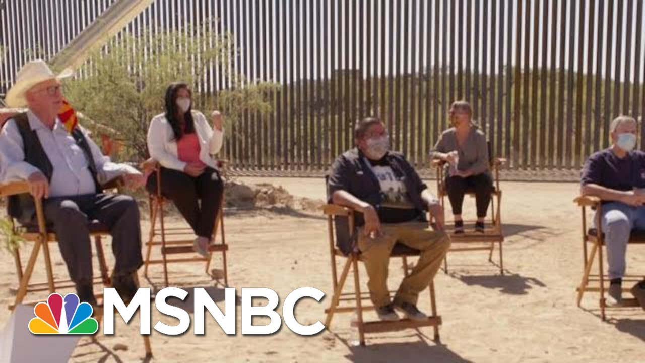 'This Wall Is A Representation Of Hate:' Arizona Voters Discuss Immigration   MTP Daily   MSNBC 9