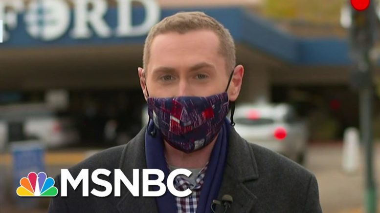 North Dakota COVID-19 Cases Spike By More Than 50 Percent | Ayman Mohyeldin | MSNBC 1