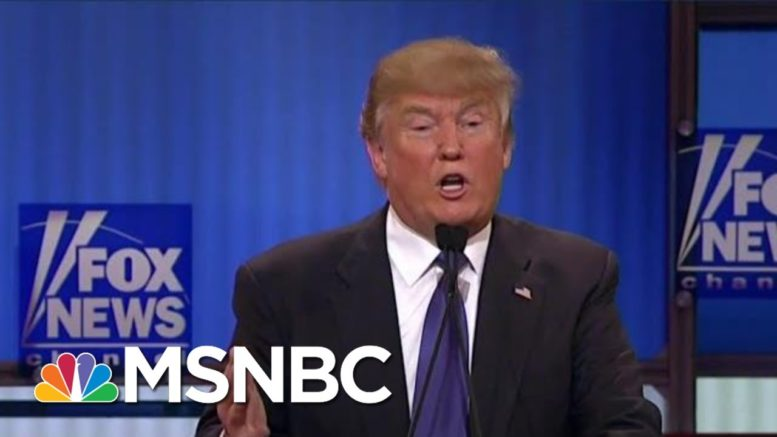 Trump Now Crashing In 2020 As Some Fans Bolt, Echoing Trump U. Debacle | MSNBC 1