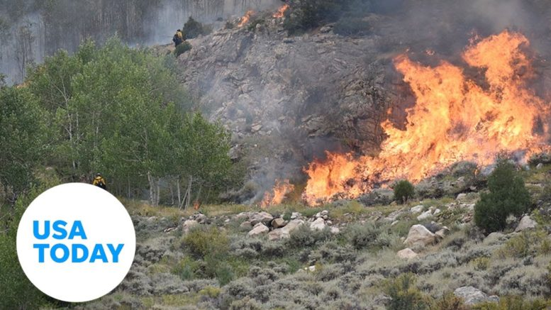 Cameron Peak fire, largest wildfire in Colorado history, spreads across the state | USA TODAY 1
