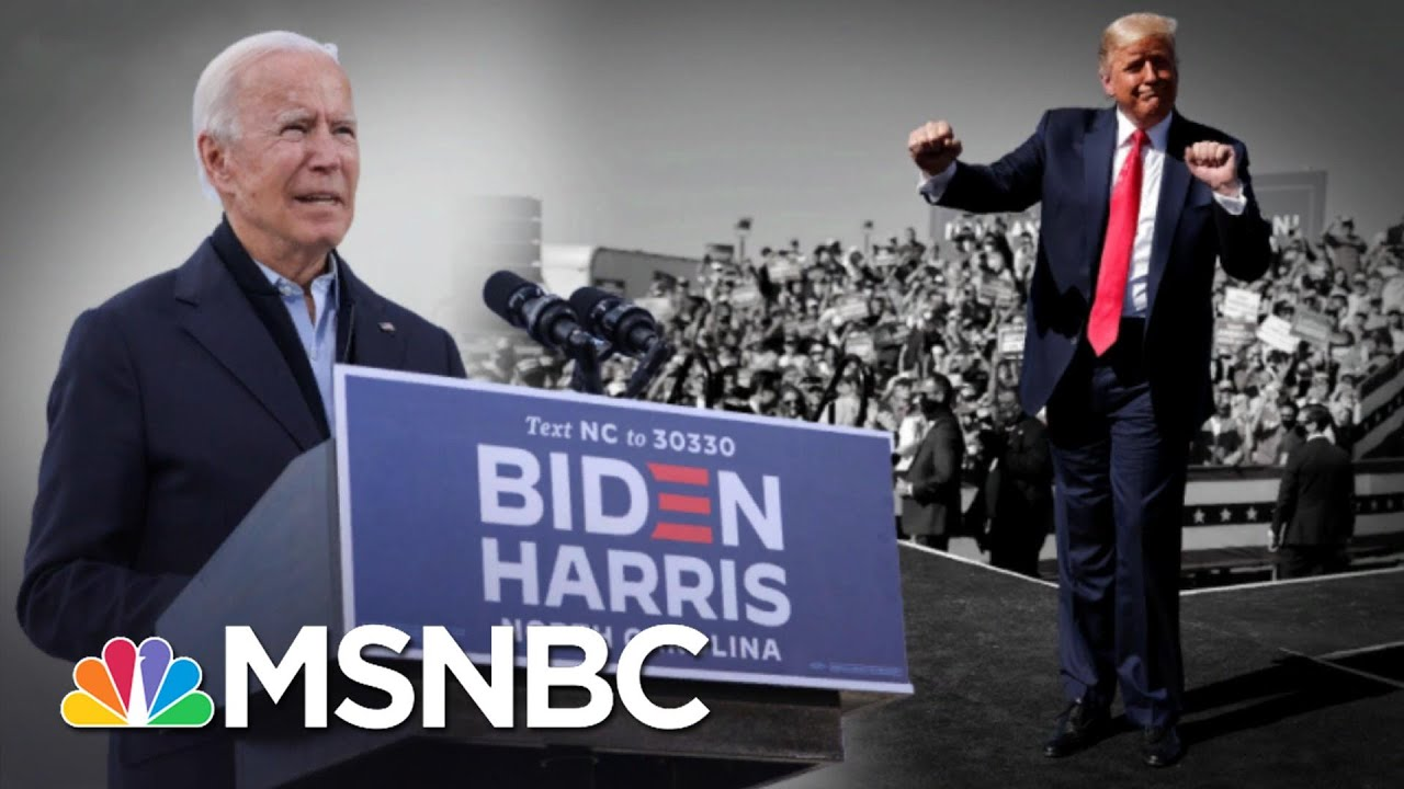 Trump Slams Biden For Listening To Fauci Who Works For Trump | The 11th Hour | MSNBC 8