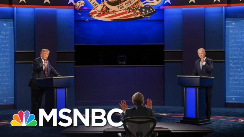 Muted Mics To Cut Interruptions At Final Biden-Trump Debate | The 11th Hour | MSNBC 1