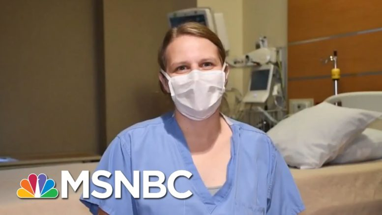 'There's Nothing Political About These People Dying.': Medical Workers On New Covid Surge | MSNBC 1