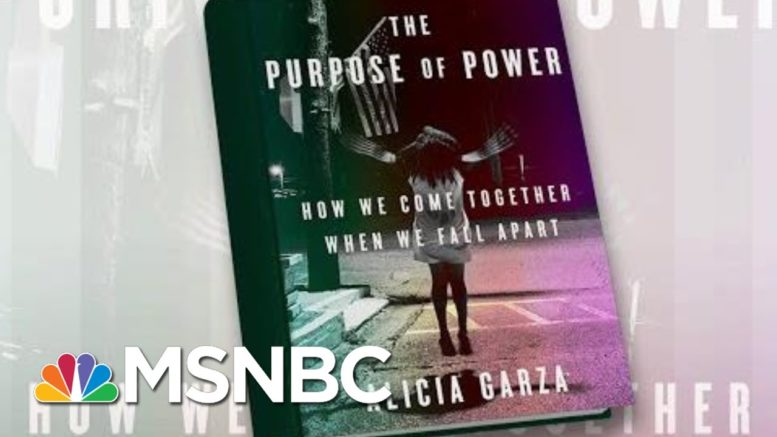 BLM Co-Founder Releases Book 'The Purpose Of Power' | Morning Joe | MSNBC 1