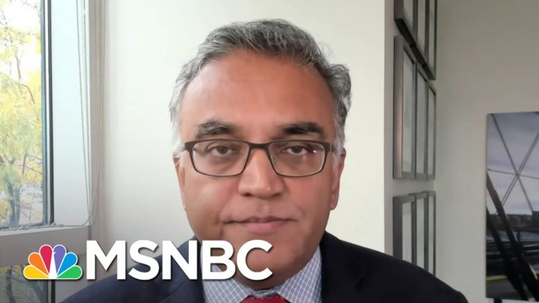 Dr. Jha Concerned About Politicizing Healthcare Workers | Andrea Mitchell | MSNBC 1