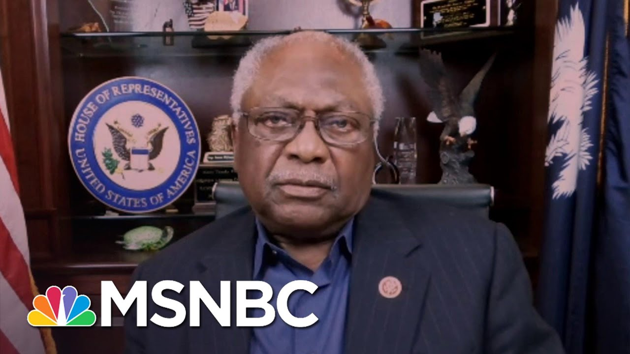Rep. Clyburn: People Are Voting Early Because They 'Don't Want Their Lives Suppressed'   Katy Tur 8