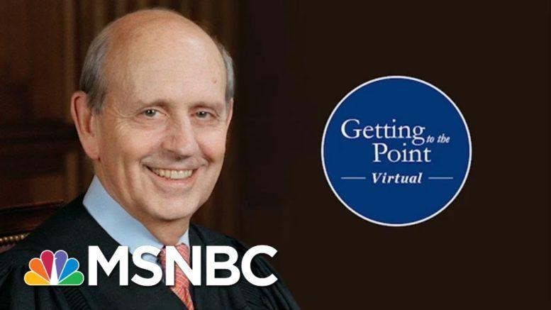 Justice Breyer On Contested Elections, Precedent, Confirmation Battles & 2020 (Melber Intv) 1