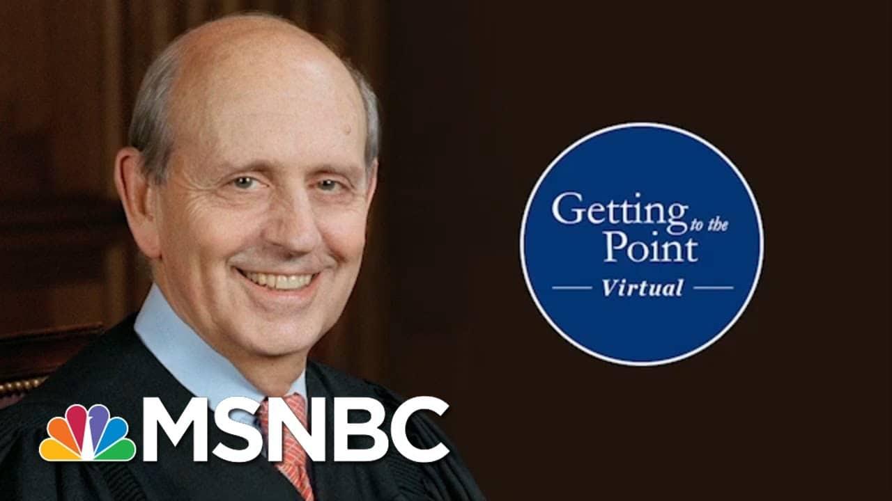 Justice Breyer On Contested Elections, Precedent, Confirmation Battles & 2020 (Melber Intv) 2