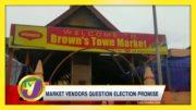 Market Vendors Question Election Promise - October 16 2020 4