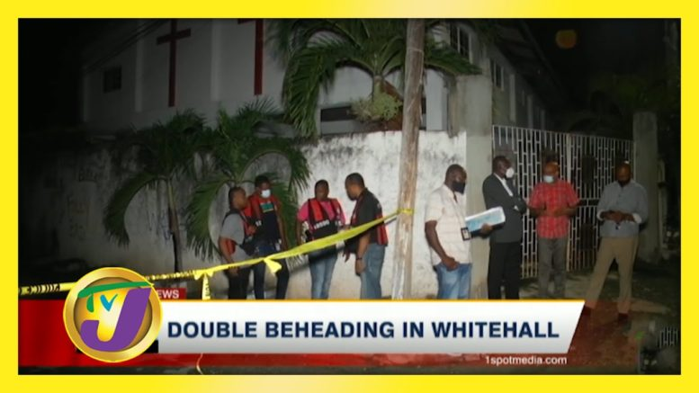 Double Beheading in Whitehall - October 17 2020 1