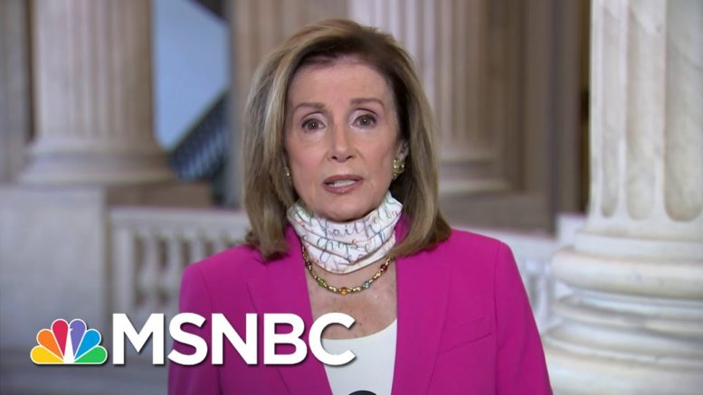 Pelosi Hopes Trump Testing Positive For Coronavirus Will Be 'A Learning Experience'   MSNBC 1
