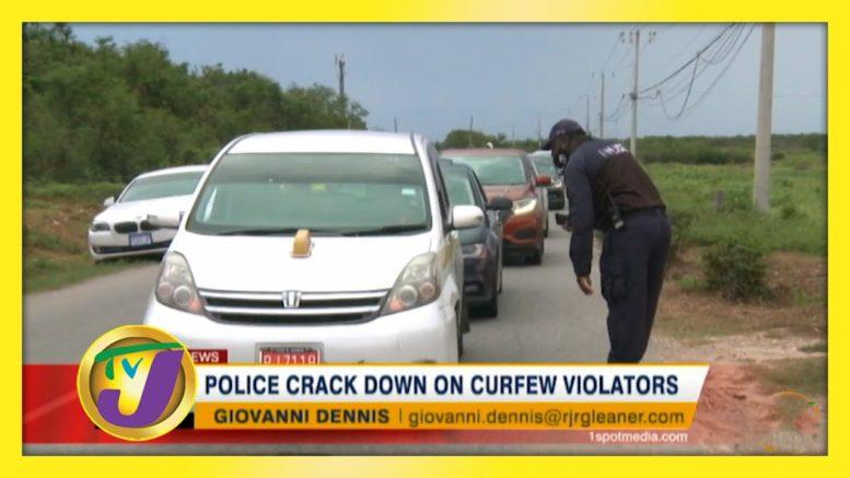 Police Crack down on Curfew Violators - October 18 2020 1
