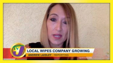 TVJ Business Day: Local Wipes Company Growing - October 18 2020 6