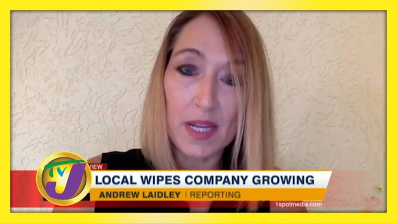 TVJ Business Day: Local Wipes Company Growing - October 18 2020 1