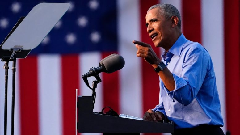 """Obama rips Trump over Chinese bank account: """"They would have called me Beijing Barry"""" 1"""