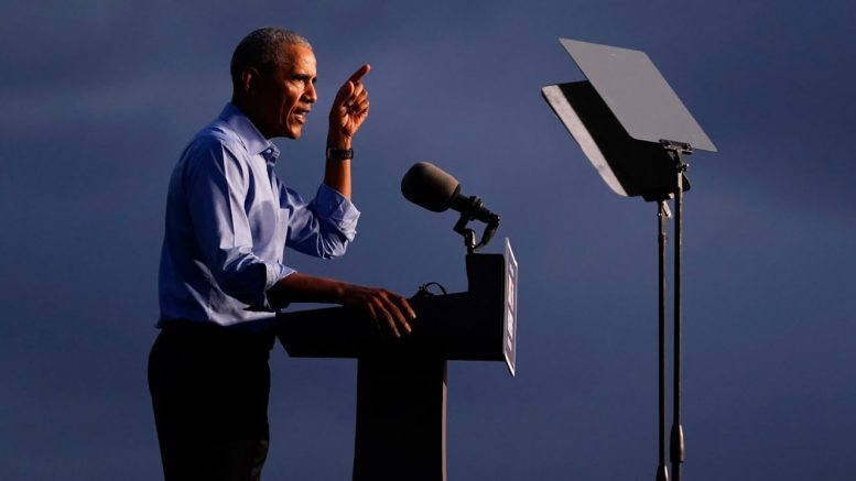 Obama unloads on Trump at rally in Pennsylvania   Full speech 1