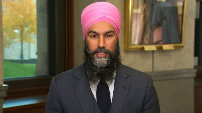 """""""Voted against an election"""": Jagmeet Singh on backing Liberals in confidence motion 1"""