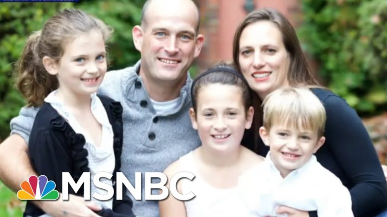 Woman Who Lost Husband To Covid-19 Urges Support For Biden | The Last Word | MSNBC 1