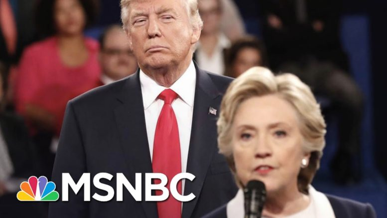 In Final Days Of Race Against Biden, Trump Attacks Hillary Clinton | The 11th Hour | MSNBC 1