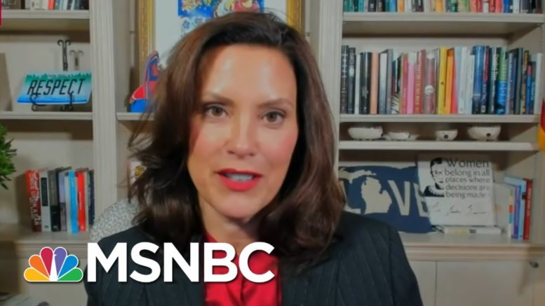 Trump Rhetoric Inciting Domestic Terror: Michigan Governor Whitmer | Rachel Maddow | MSNBC 1