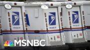 U.S. Postal Service Pulls Uniformed Police From Protective Patrols: WSJ   Rachel Maddow   MSNBC 5