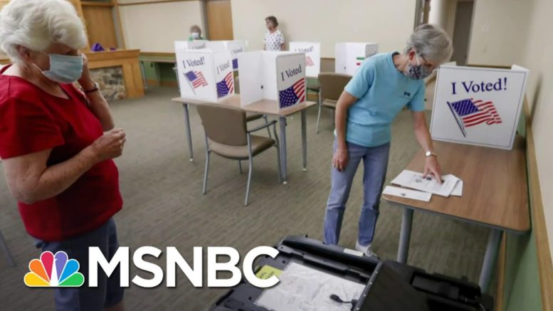 Supreme Court Allows 3-Day Extension To Count PA Mail Ballots | The Last Word | MSNBC 1