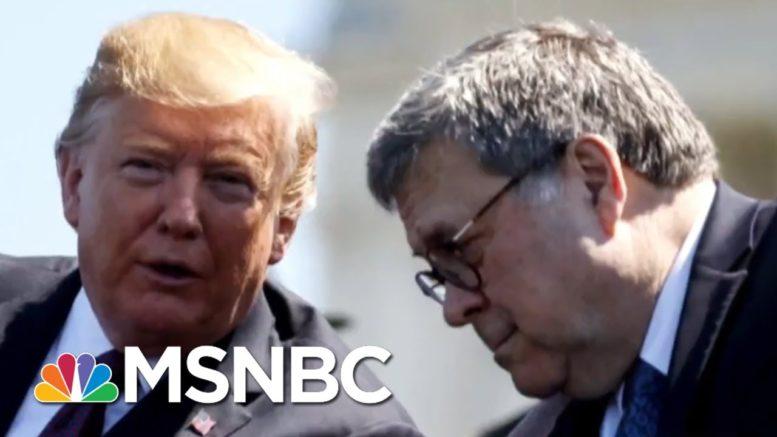 Trump Pressures Barr To Investigate Joe And Hunter Biden | Morning Joe | MSNBC 1