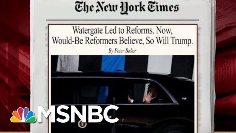 Will Trump's Presidency Lead To Reforms? | Morning Joe | MSNBC 1