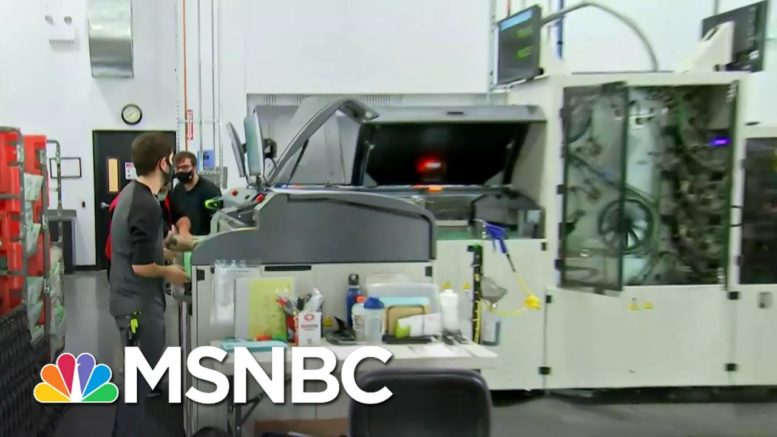 Arizona Warehouse Processes Thousands Of Mail-In Ballots Daily | Craig Melvin | MSNBC 1