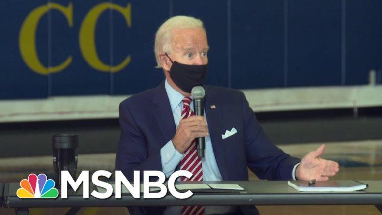 Joe Biden Tests Negative For Coronavirus | Andrea Mitchell | MSNBC 1