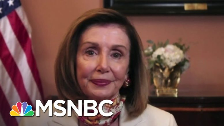 Pelosi: 'I Think We Have A Prospect For An Agreement' On Relief | Andrea Mitchell | MSNBC 1