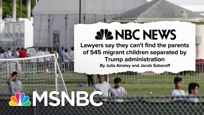 The Harrowing Effects Of The Trump Administration's Cruel Separation Policy | Deadline | MSNBC 1