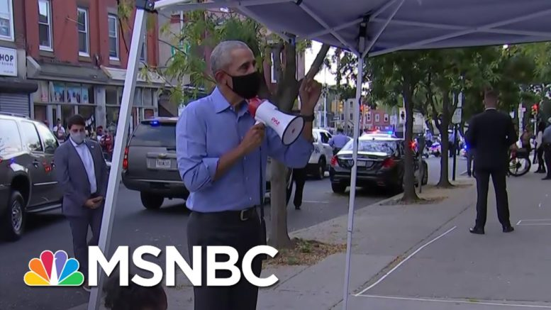 Campaigning Is Like 'Riding A Bike' For Obama, Errin Haines Claims   Deadline   MSNBC 1