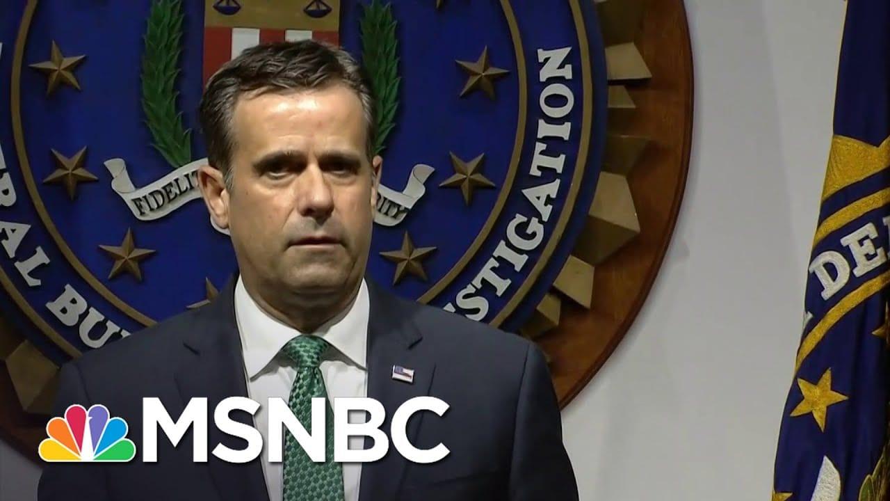 FBI Announces Iran, Russia Interfering In Election   The ReidOut   MSNBC 8