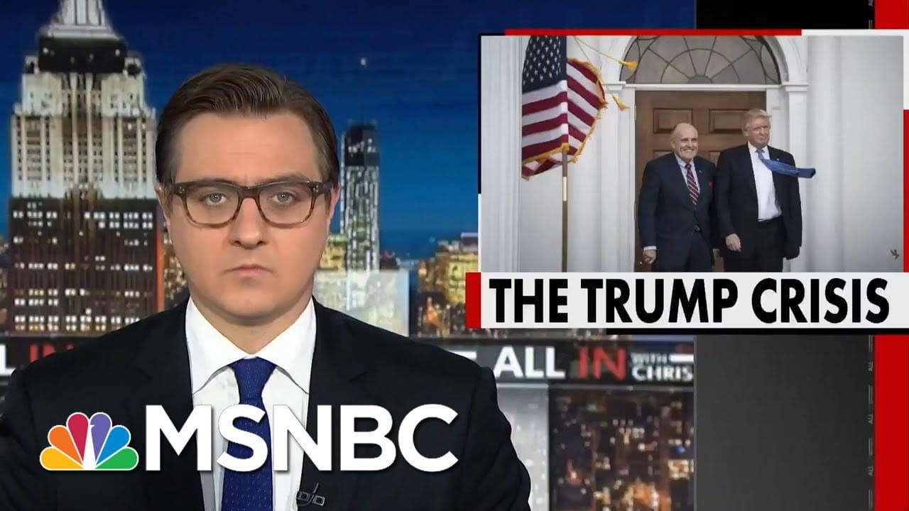 Trump Wants To Make The Election About 'Corruption.' Here's Why That Could Backfire   All In   MSNBC 6