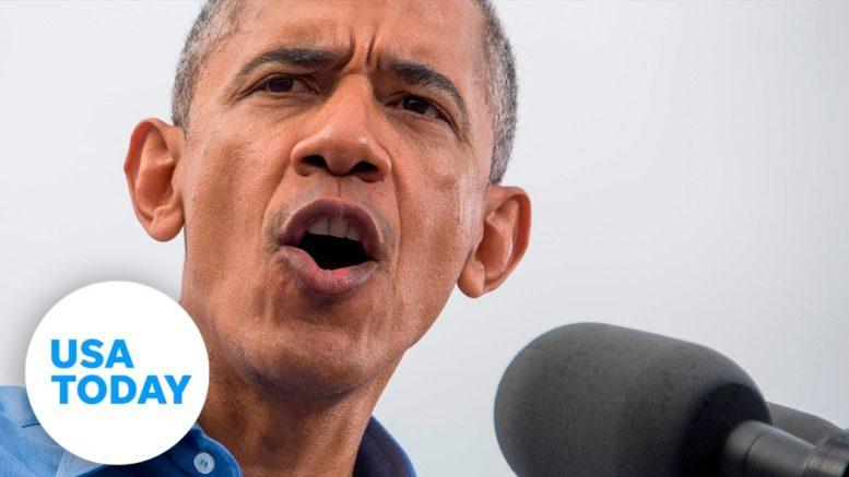 President Obama campaigns for Biden in Philadelphia | USA TODAY 1