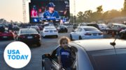 Dodgers Stadium hosting drive-in World Series | USA TODAY 5
