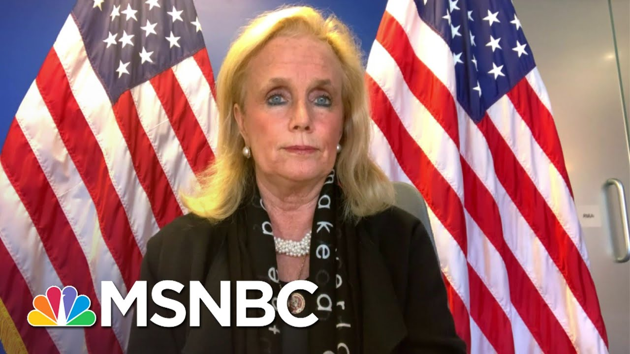 Dingell: Biden Is 'Showing People How You Can Connect With Human Beings Safely' | MSNBC 1