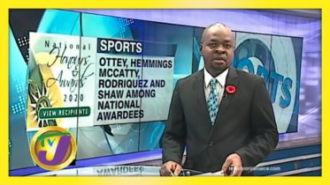 Ottey Among 6 Sporting Personalities Awarded - October 19 2020 6