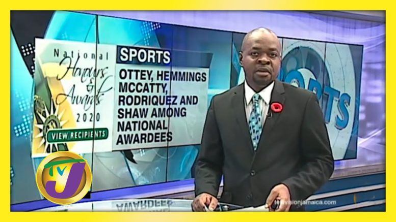 Ottey Among 6 Sporting Personalities Awarded - October 19 2020 1