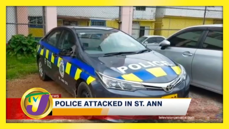 Police Attacked in St. Ann - October 19 2020 1