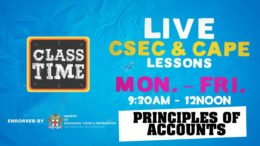Principles of Accounts 9:45AM-10:25AM | Educating a Nation - October 21 2020 9